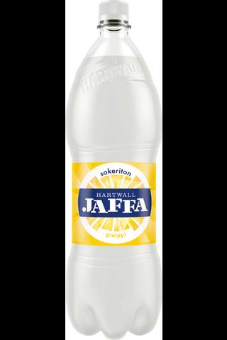 Hartwall Jaffa Greippi Sokeriton virvoitusjuoma 1,5 l