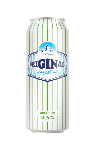 Hartwall Original Long Drink WL Lime 4,5% 0,5 l