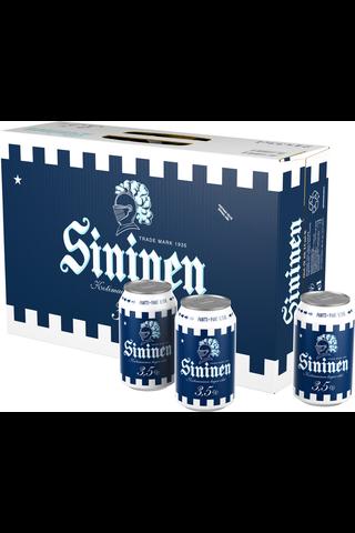 Sininen 3,5% olut 24x0,33l tölkki