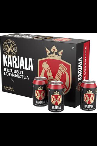 Karjala 4,5% olut 24x0,33 l tölkki