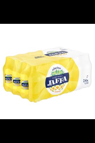 24 x Hartwall Jaffa Ananas Sokeriton virvoitusjuoma 0,33 l
