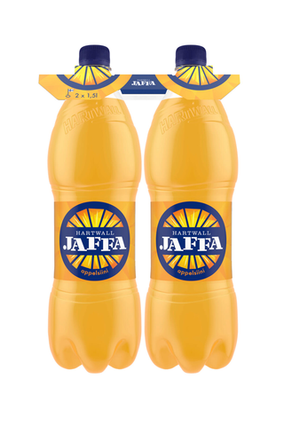 2 x Hartwall Jaffa Appelsiini virvoitusjuoma 1,5 l