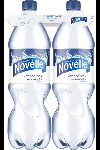 2 x Hartwall Novelle kivennäisvesi 1,5 l