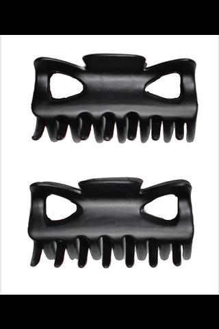 Ibero Haisolki musta muovia 2kpl