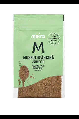 Meira Muskottipähkinä 23g jauhettu pussi mauste