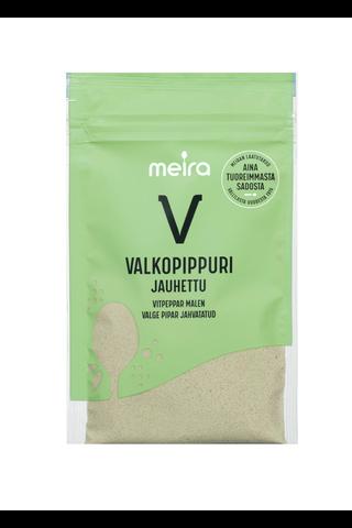 Meira Valkopippuri 31g jauhettu pussi mauste