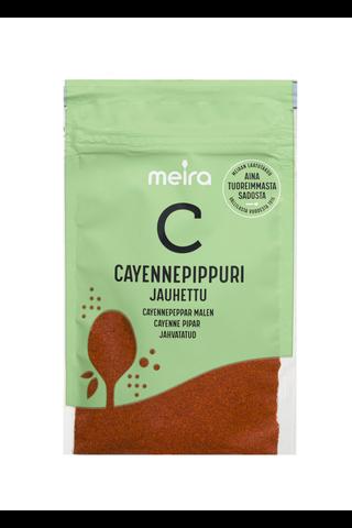 Meira Cayennepippuri 22g pussi mauste