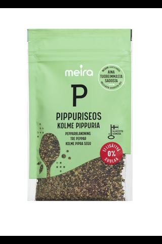 Meira Pippuriseos kolme pippuria ei lisättyä suolaa 32g