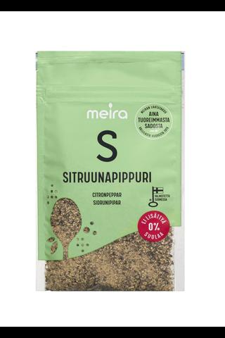 Meira 32g Sitruunapippuri suolaton pussi mausteseos