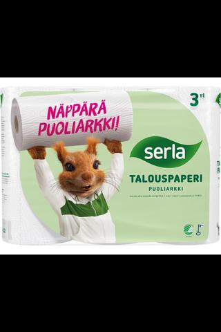 Serla Puoliarkki talous 3 rl