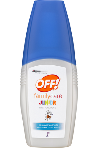 OFF! Family Care 100ml Junior hyttyssuihke hyönteiskarkote