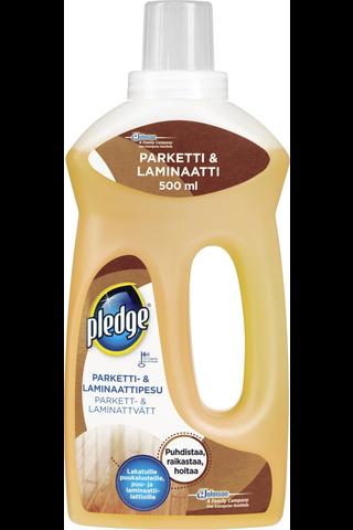Pledge 500ml parketti- & laminaattipesu lattianpuhdistusaine