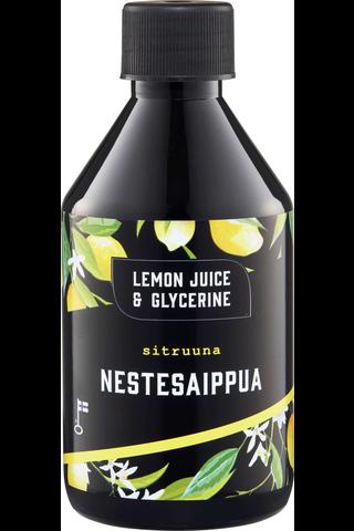 Lemon Juice & Glycerine 275ml Sitruuna nestesaippua täyttö