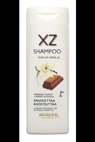 XZ 250ml Suklaa-Vanilja shampoo rauhoittava
