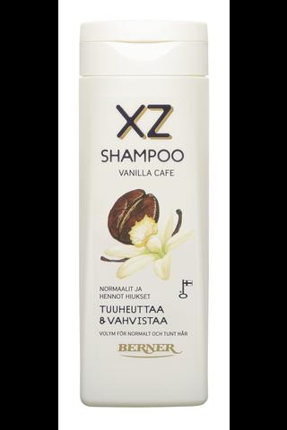 XZ 250ml Tuuheuttava Vanilla Cafe Shampoo