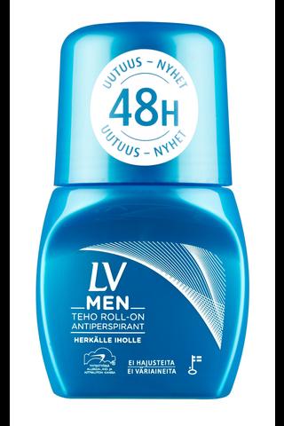 LV Men 60ml Teho roll-on 48h antiperspirantti