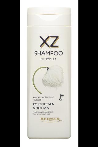 XZ 250ml Niittyvilla kosteuttava shampoo
