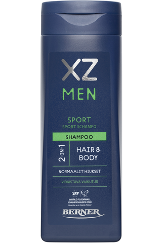 XZ 250ml Men 2-in-1 sport shampoo