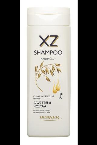 XZ 250ml Kauraöljy shampoo