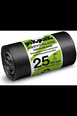 PikPak kiertotaloussäkki 25l 520x590mm