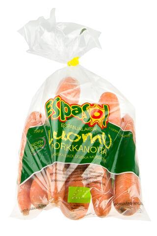 Porkkanapussi Luomu