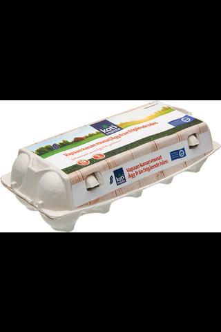 Kotimaista M10 580g vapaan kananmuna