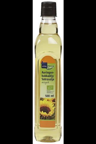 Rainbow Luomu auringonkukkaöljy 500 ml