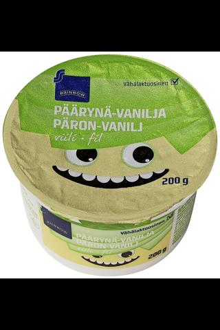 Rainbow Päärynä-vaniljaviili 200 g