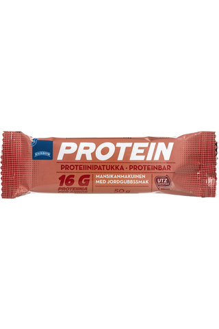 Rainbow Protein bar strawberry 50 GRM