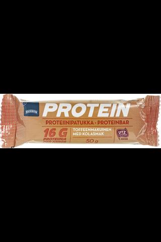 Rainbow 50 g toffeenmakuinen proteiinipatukka