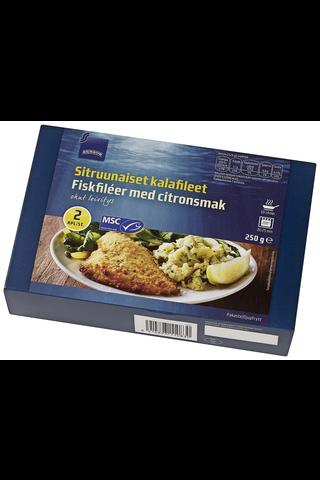 Rainbow Sitruunaiset kalafileet 250 g, 2 kpl