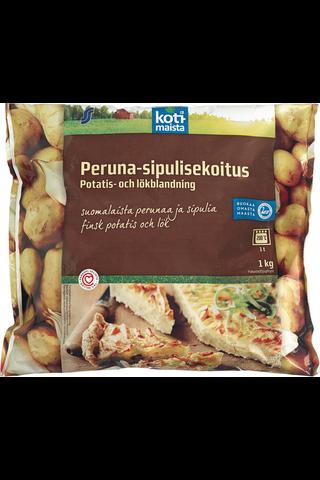 Kotimaista 1kg peruna-sipulisekoitus