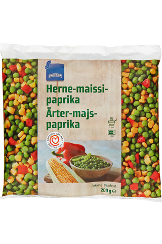 Rainbow Herne-maissi-paprika 200 g