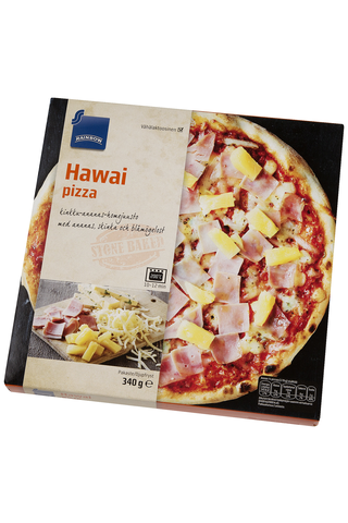 Rainbow Hawai pizza 340 g
