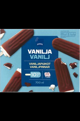 Rainbow Vaniljapuikot 10 kpl, 700 ml/390 g