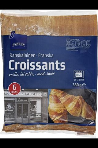Rainbow Croissant 330 g, 6 kpl