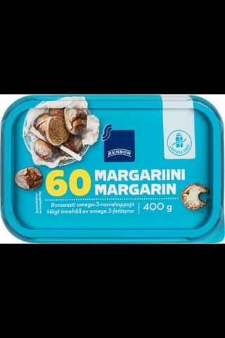 Rainbow Margariini laktoositon 60% 400 g