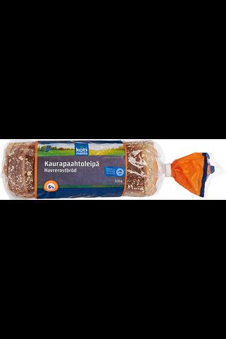 Kotimaista 310g kaurapaahtoleipä