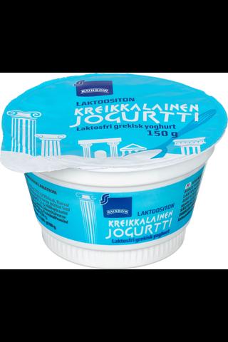 Rainbow 150g 2% kreikkalainen jogurtti laktoositon