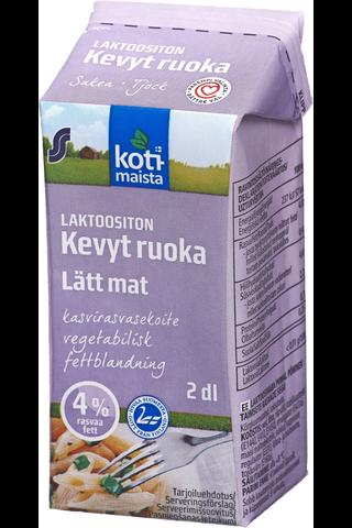 Kotimaista Laktoositon Kevyt ruoka 4% 2dl