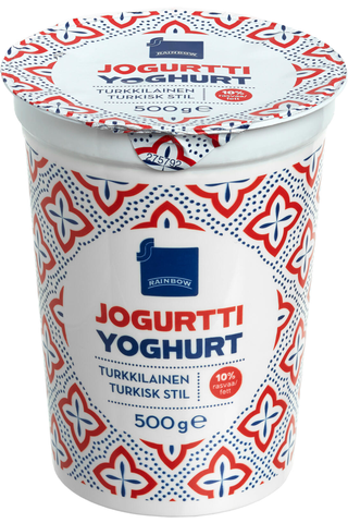 Rainbow 500g turkkilainen jogurtti 10%