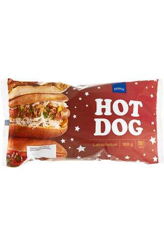 Rainbow Hot dog 100 g