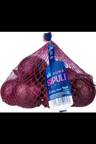 Kotimaista Suomalainen Punasipuli 2. lk 500 g