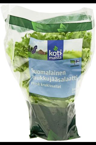 Kotimaista 100g suomalainen ruukkujääsalaatti