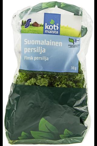 Kotimaista 30g suomalainen persiljanippu