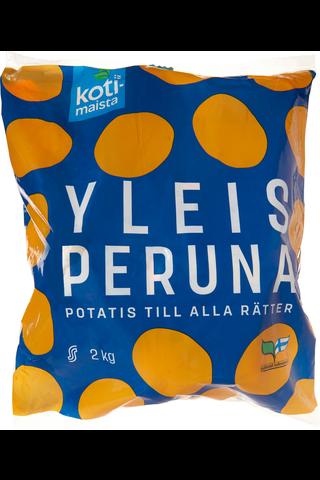 Kotimaista 2kg suomalainen yleisperuna
