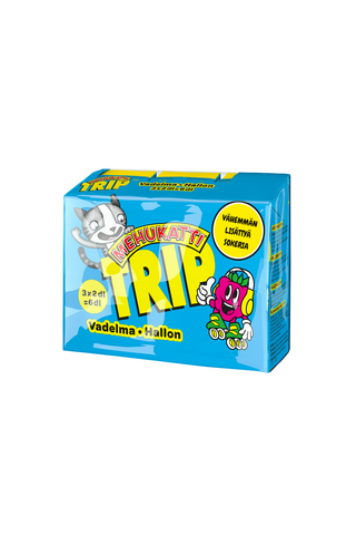 Mehukatti Trip Vadelmajuoma 3-pack 3x2dl
