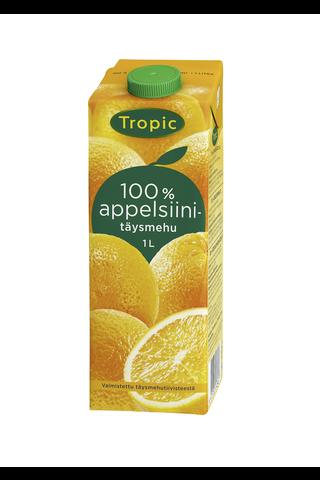 Tropic 1l appelsiinitäysmehu 100%