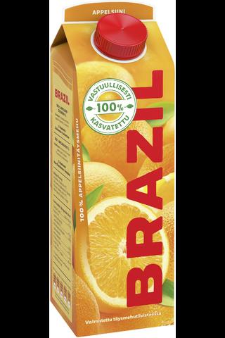 Brazil 1L appelsiinitäysmehu 100%