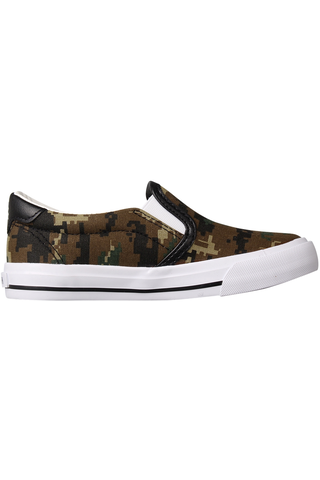 Zoo York lasten kanvastennarit Camo slip-on